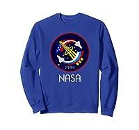 Approved Nasa Shirts Sweatshirt Royal Blue