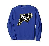 Virginia Commonwealth University Rams Vcu Ppvcu07 Shirts Sweatshirt Royal Blue