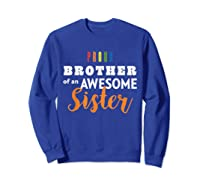 Proud Brother, Gay Pride Lgbt Shirts Sweatshirt Royal Blue