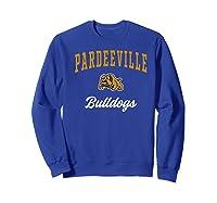 Pardeeville High School Bulldogs Premium T-shirt Sweatshirt Royal Blue