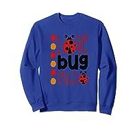 Love Bug Tribe Red Lady Bug Girls Squad Shirts Sweatshirt Royal Blue