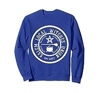 Salem Local Witches Union Est 1692 Halloween Shirts Sweatshirt Royal Blue