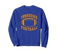 Tennessee Football Vintage Distressed Premium T-shirt Sweatshirt Royal Blue