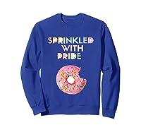 Sprinkled With Pride Foodie Shirts Sweatshirt Royal Blue