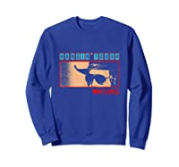 Waylon Jennings Hangin Tough Merchandise Shirts Sweatshirt Royal Blue
