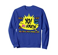 Mtv Yo! Raps Shirts Sweatshirt Royal Blue