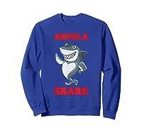 Abuela Shark Tshirts: Funny Spanish Gift T-shirt Sweatshirt Royal Blue