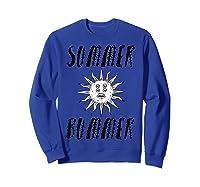 Summer Bummer Seapunk Shirts Sweatshirt Royal Blue