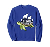 ' Acts Can Transform The World' Environ Shirts Sweatshirt Royal Blue