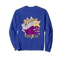 Epilepsy Warrior Shirt Blonde Girl Hero Tee Sweatshirt Royal Blue