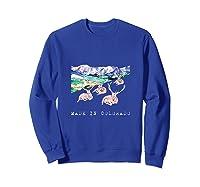 Made In Colorado Shirts Sweatshirt Royal Blue