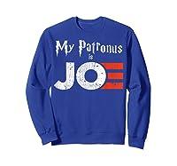 My Patronus Is Joe Biden Harris 2020 Voter Harry Fan Gift Shirts Sweatshirt Royal Blue