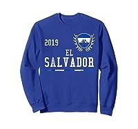 El Salvador Football 2019 Salvadorean Soccer T-shirt Sweatshirt Royal Blue