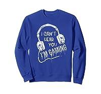 Funny Computer Gaming Gamer Video Game Gift For Shirts Sweatshirt Royal Blue