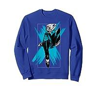 Marvel X- Storm Color Pop Box Graphic T-shirt Sweatshirt Royal Blue