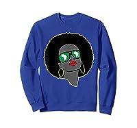 Black History Tshirts For | Pan African Shirt | 1619 T-shirt Sweatshirt Royal Blue