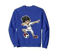 Dabbing Soccer Boy South Korea, Korean Flag Shirts Sweatshirt Royal Blue