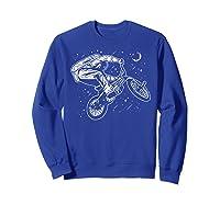 Astro Bike Astronaut Bmx Geschenk Shirts Sweatshirt Royal Blue
