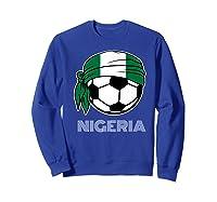 Nigeria Soccer 2019 Super Eagles Fans Kit Football Shirts Sweatshirt Royal Blue