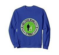 Not Every Disability Is Visible Awareness Illness Shirts Sweatshirt Royal Blue