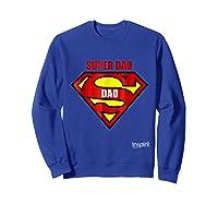 Super Dad By Inspir8 Movet Shirts Sweatshirt Royal Blue