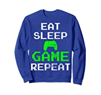 Gaming Console Vintage Shirts Sweatshirt Royal Blue