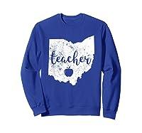 Red For Ed T-shirt Ohio Tea Public Education Sweatshirt Royal Blue