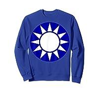 Taiwan Flag Kuomintang Symbol Shirts Sweatshirt Royal Blue