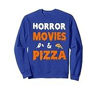 Happy Halloween Halloween Party Shirts Sweatshirt Royal Blue