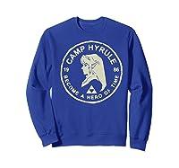 Nintendo Zelda Link Camp Hyrule 1986 Craft Premium T-shirt Sweatshirt Royal Blue