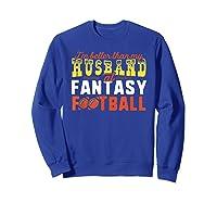 Football Mommy Shirts For Soccer Gift Better Husband Sweatshirt Royal Blue