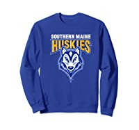 University Of Southern Maine Huskies Ppusmn02 Shirts Sweatshirt Royal Blue