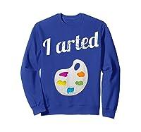 Arted Shirts Sweatshirt Royal Blue