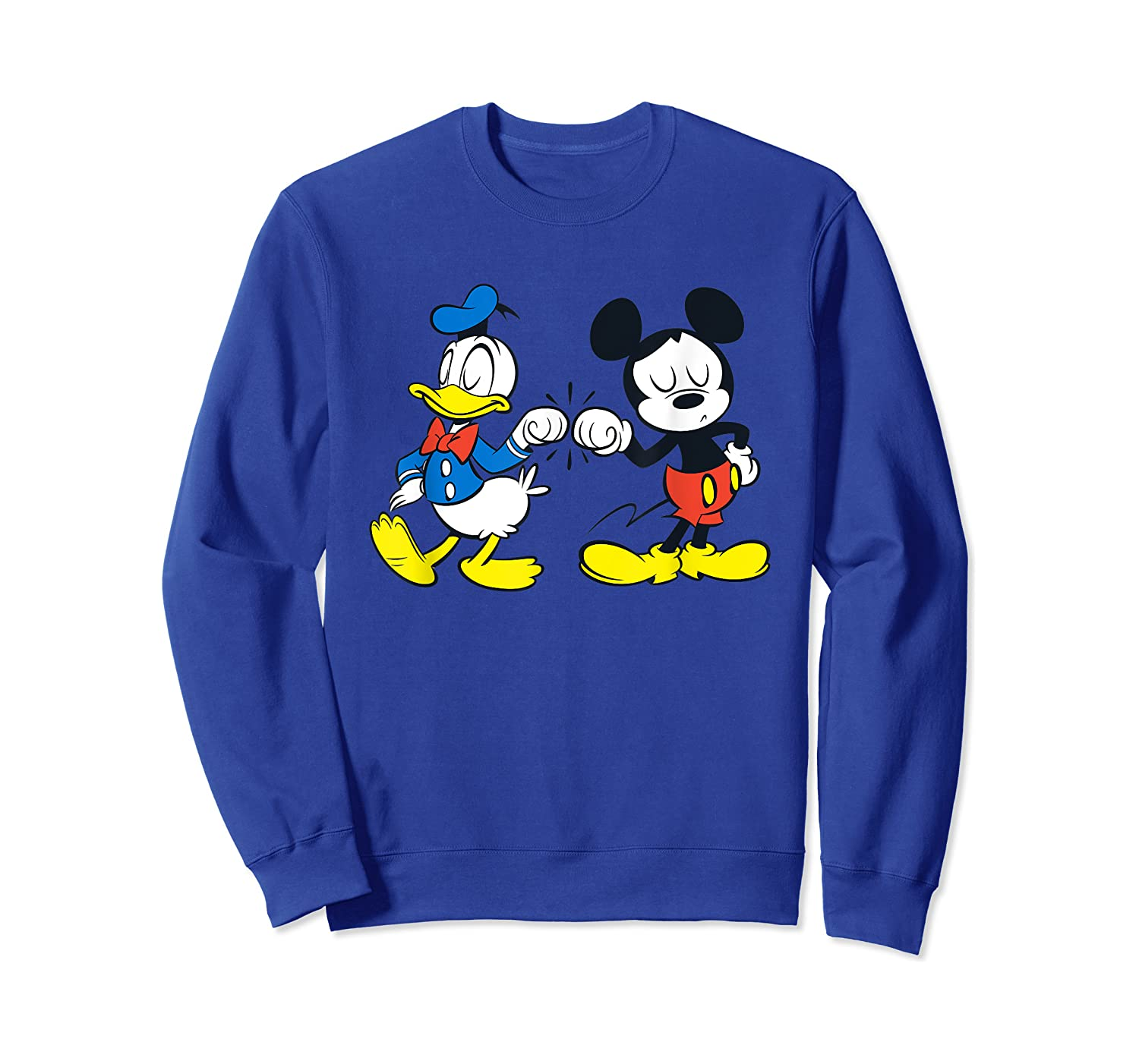Disney Mickey Mouse And Donald Duck Best Friends T-shirt Crewneck Sweater