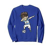 Dabbing Soccer Argentina - Argentinian Football Premium T-shirt Sweatshirt Royal Blue