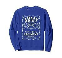506th Infantry Regi Shirts Sweatshirt Royal Blue