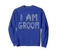 Funny Bachelor Party Olive Shirts Sweatshirt Royal Blue