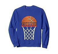 Basketball Foster Custom Name Gift, Shirts Sweatshirt Royal Blue