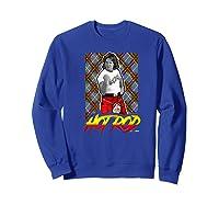 Wwe Nerds - Hot Rod Roddy Piper Neon Series Premium T-shirt Sweatshirt Royal Blue