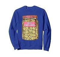 Antidepressant Cat Tshirt Kitty Happy Pills Cute Sweatshirt Royal Blue