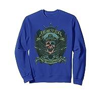 S Us Navy - Honor, Courage, Committ T-shirt For Patriots Sweatshirt Royal Blue