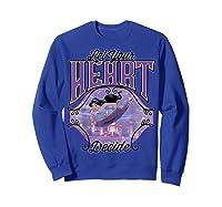 Aladdin Jasmine Let Your Heart Decide Ride Shirts Sweatshirt Royal Blue