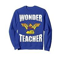 Wonder Tea Funny Tea Life Shirts Sweatshirt Royal Blue