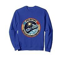 Apollo-soyuz Rendezvous Patch T-shirt Nasa History Sweatshirt Royal Blue