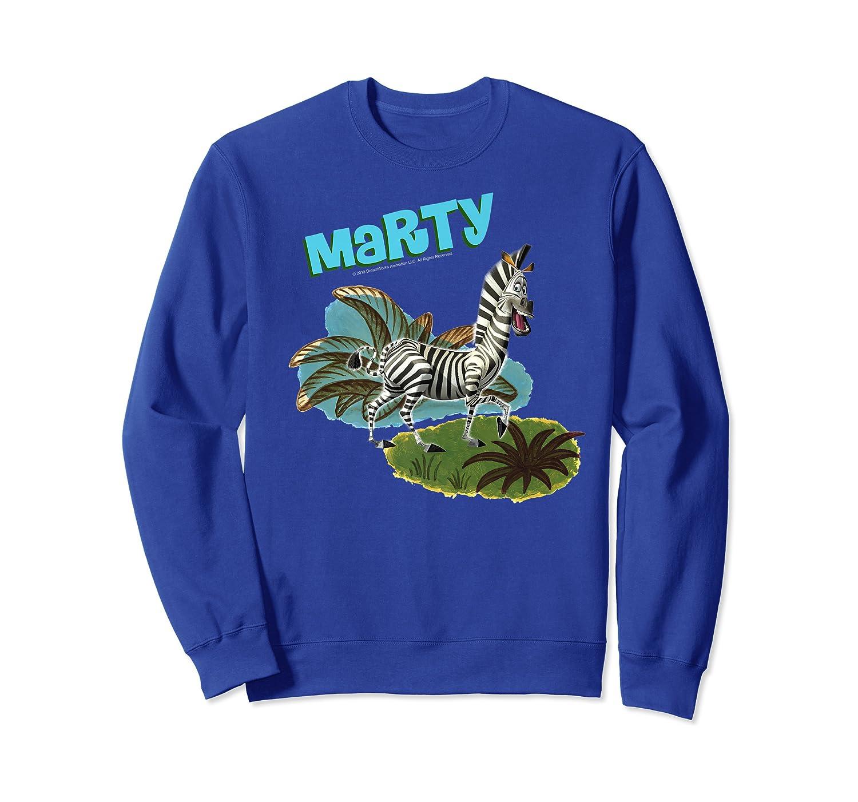 Madagascar Marty Painted Grass Poster Premium T-shirt Crewneck Sweater