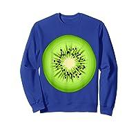 Kiwi Costume Fruit Halloween Costume Shirts Sweatshirt Royal Blue