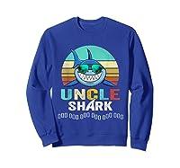 Uncle Shark Doo Doo T-shirt Sweatshirt Royal Blue