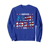 Jade Helm 15 Conspiracy Theories T Shirt Usa Army Political Sweatshirt Royal Blue