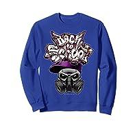 Back To School (in Purple) T-shirt Sweatshirt Royal Blue