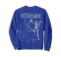 S The Return Group Poster Shirts Sweatshirt Royal Blue